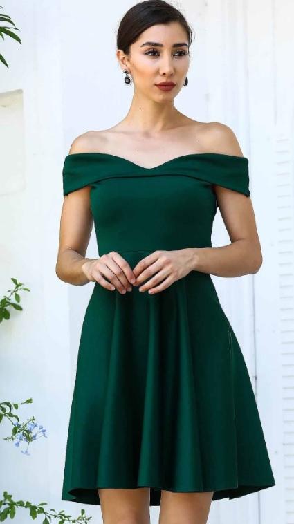 Yeşil Renk Kız İsteme Elbiseleri