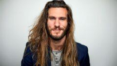 Erkek Uzun Saç Modelleri 20+Stil