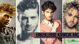 Kıvırcık Saç Modelleri Erkek İçin Stiller