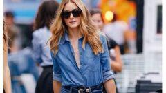 Kot Gömlek Kombinleri Kadınlar İçin 15+Stil
