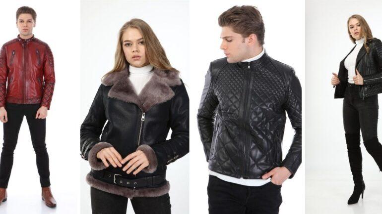 Bu Yılın Öne Çıkan Deri Ceket Modelleri