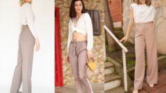 Vizon Rengi Pantolon Üstüne Ne Giyilir +10 Görsel