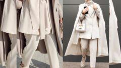 Bej Rengi Pantolon Kombinleri Kadın