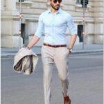 erkek klasik kemer ayakkabı kombinleri