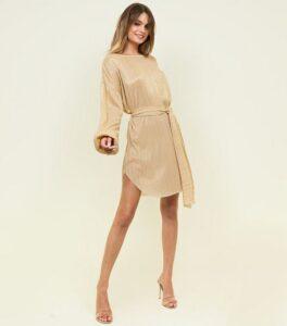 Kısa dore elbise