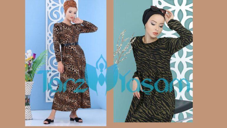 Leopar Desenli Elbisenin Üstüne Hangi Renk Şal Gider?