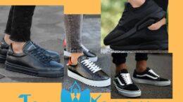 Siyah Spor Ayakkabının Üstüne Ne Giyilir?
