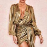 Transparan dore elbise