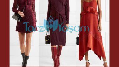 Bordo Elbise Altına Hangi Renk Ayakkabı