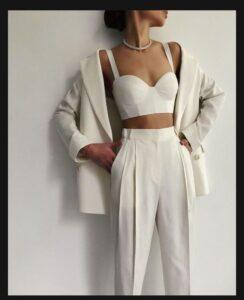 Crop bluz modeli
