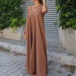 Taba günlük elbise