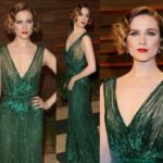 yeşil abiye elbiseye uygun makyaj