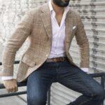 Kot pantolon ceket kombinleri erkek